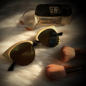 Sunglasses - Cuba - Golden Reflector-FASHION-PropShop24.com