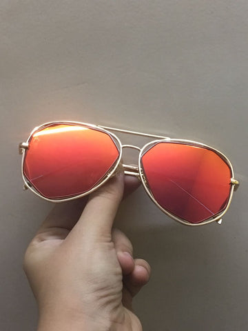 sunglasses - Ruby Red