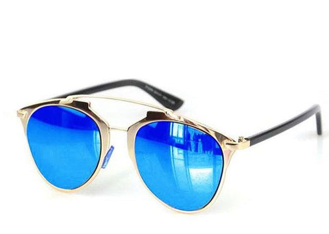 sunglasses - Golden Bridge Blue Lens-Fashion-PropShop24.com