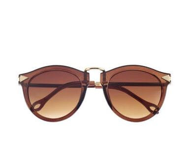 sunglasses - Brown & Gold Arrow