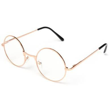 Reading glasses - Round Rose Gold Anti Reflector-Fashion-PropShop24.com