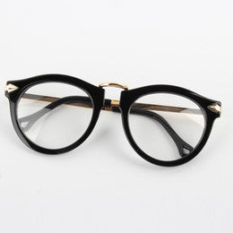 Glasses - Arrow Black & Gold Anti Reflectors-Fashion-PropShop24.com