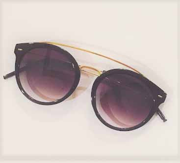 Sunglasses - Amara - Black & Gold-Fashion-PropShop24.com