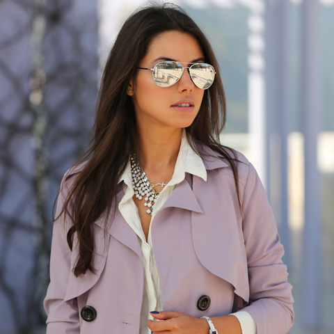 Sunglasses - Capri - Silver-Fashion-PropShop24.com