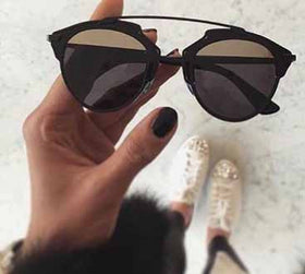 Sunglasses - Athena - Shaded Black-Fashion-PropShop24.com