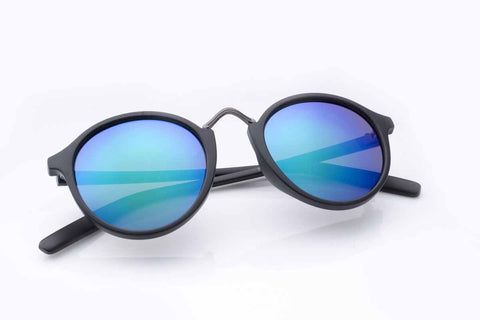 Sunglasses - Black & Blue Vintage-Fashion-PropShop24.com