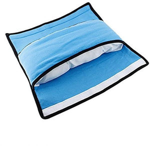 Car Headrest Pillow - Blue-TRAVEL ESSENTIALS-PropShop24.com