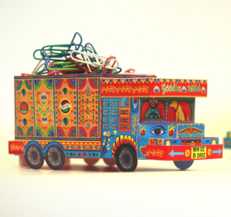 Diy Truck - Blue-STATIONERY-PropShop24.com