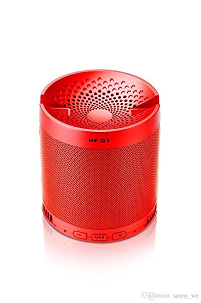Portable Bluetooth Speaker With Mobile / Tablet Holder - Red-GADGET ACCESSORIES-PropShop24.com