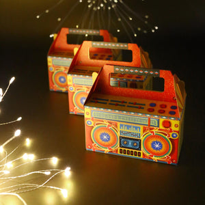 Set Of 10 Boombox Gift Boxes-DESK ACCESSORIES-PropShop24.com