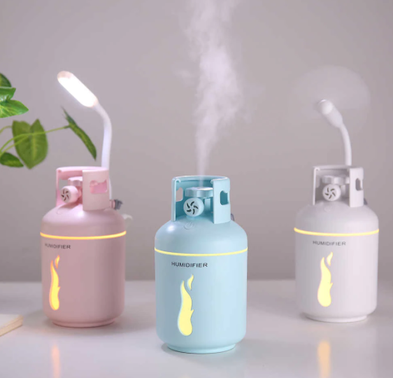 Humidifier - Gas Cylinder-CANDLES + AROMA-PropShop24.com