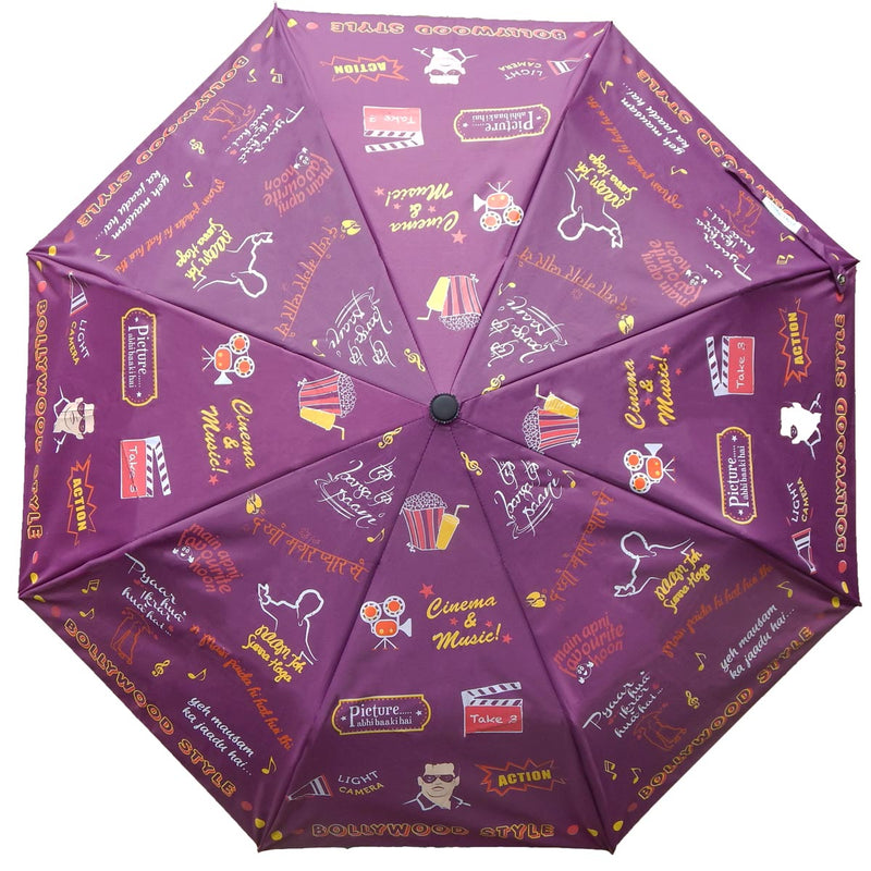 Umbrella - Bollywood- 3 Fold Automatic-TRAVEL ESSENTIALS-PropShop24.com