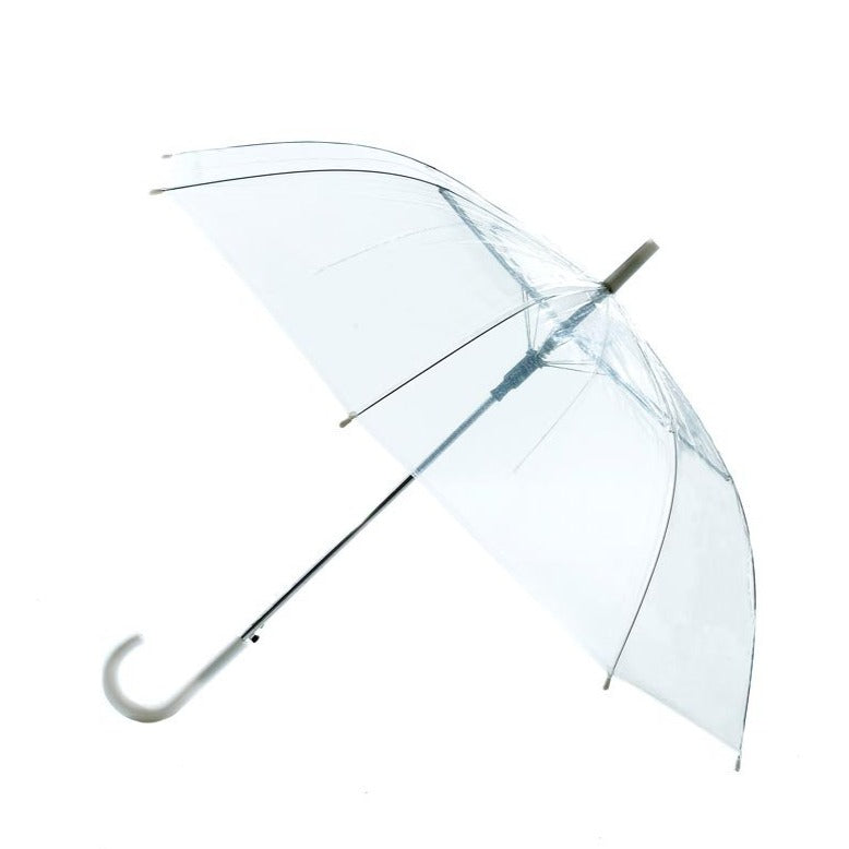 Umbrella - Transparent - J Handle-TRAVEL ESSENTIALS-PropShop24.com