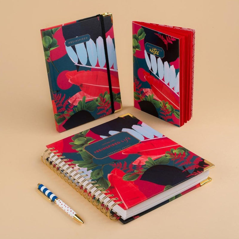 Notebook - Be Inspired - Frida-NOTEBOOKS + JOURNALS-PropShop24.com