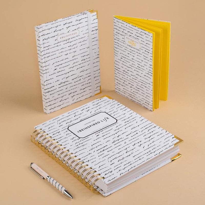 Notebook - Be Inspired - Secret-NOTEBOOKS + JOURNALS-PropShop24.com