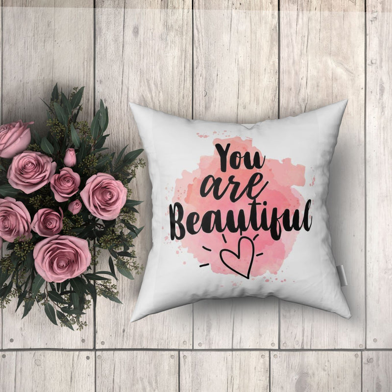 Cushion Cover - You Are Beautiful-HOME ACCESSORIES-PropShop24.com