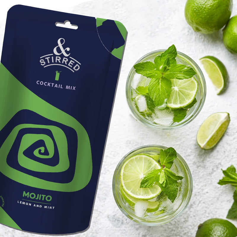 Cocktail Mix - Mojito - Set Of 6-DRINKS-PropShop24.com