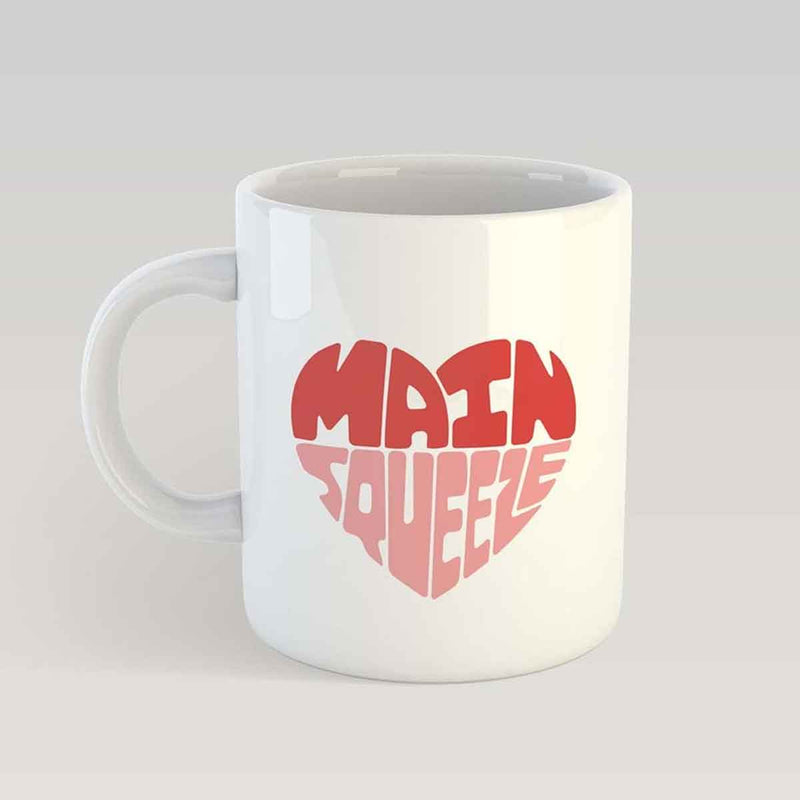 Coffee Mug - Heart Main Squeeze-DINING + KITCHEN-PropShop24.com