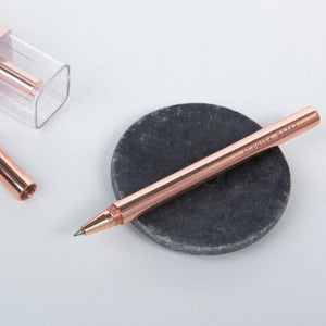 Personalized Pen - Rose Gold Brass - C.O.D Not Available-PENS + PENCILS + PAPER CLIPS-PropShop24.com