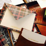 Chequered Greeting Card-STATIONERY-PropShop24.com