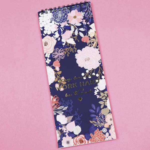 Blooming Oblong Notepad-STATIONERY-PropShop24.com