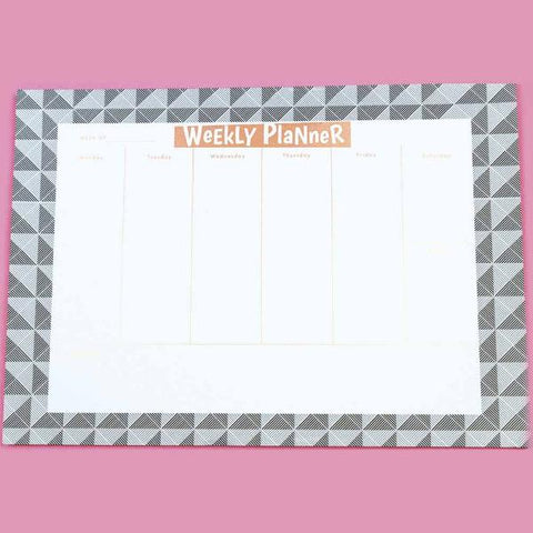 Geometric Weekly Planner-STATIONERY-PropShop24.com