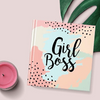 Girl Boss Hardbound | Square Notebook - Ruled-NOTEBOOKS + JOURNALS-PropShop24.com