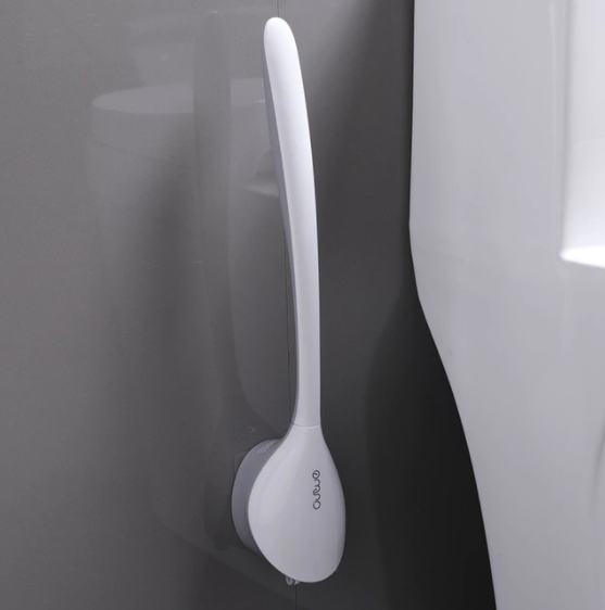 Toilet Cleaning Brush With Holder-BATHROOM ESSENTIALS-PropShop24.com