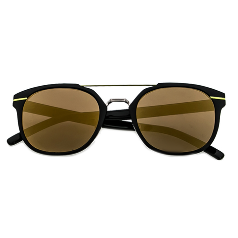 Sunglasses - Hot Shot Green Mirror