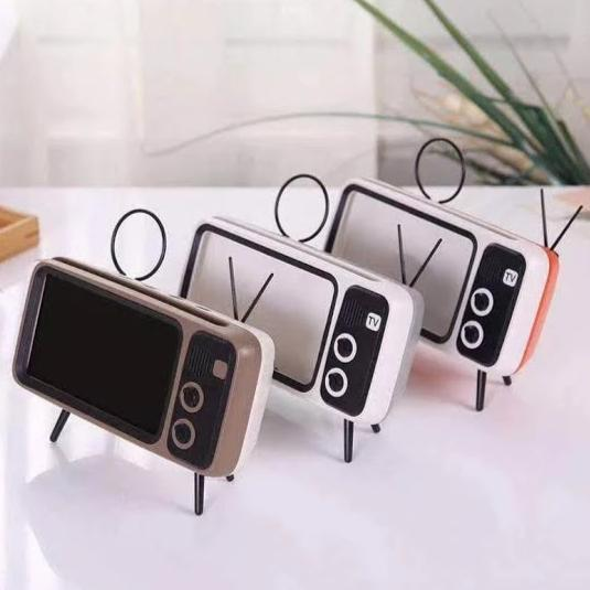 Retro Tv - Bluetooth Speaker And Phone Holder-GADGET ACCESSORIES-PropShop24.com