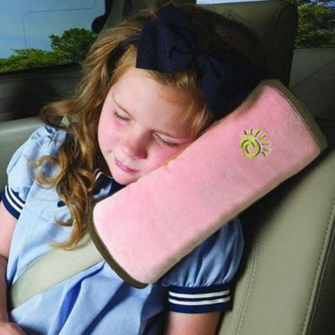 Car Headrest Pillow - Pink-FASHION-PropShop24.com