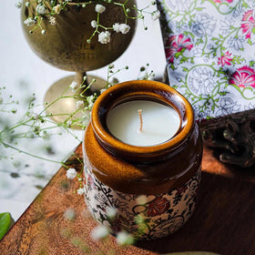 Jar Scented Candle-CANDLES + AROMA-PropShop24.com