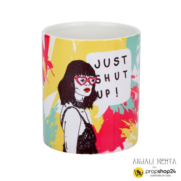 Coffee Mug - Just Shut Up - propshop-24 - 1