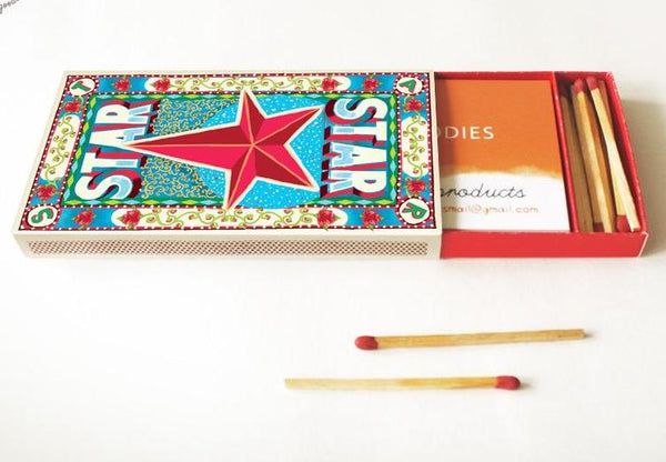 Diy Matchbox Business Card Holder - Star-STATIONERY-PropShop24.com