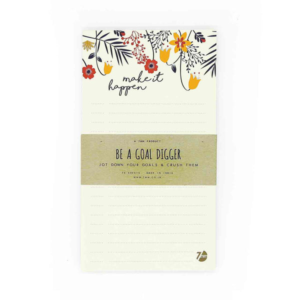 NOTEPAD - Make it Happen-STATIONERY-PropShop24.com