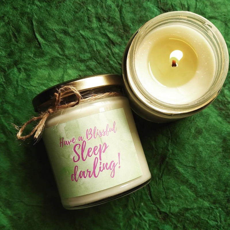 Lavender And Patchouli Scented Candle-CANDLES + AROMA-PropShop24.com