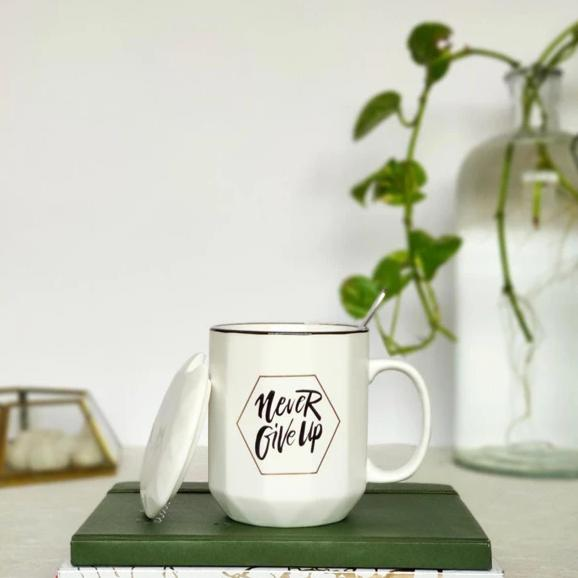 Coffee Mug - Never Give Up-DINING + KITCHEN-PropShop24.com