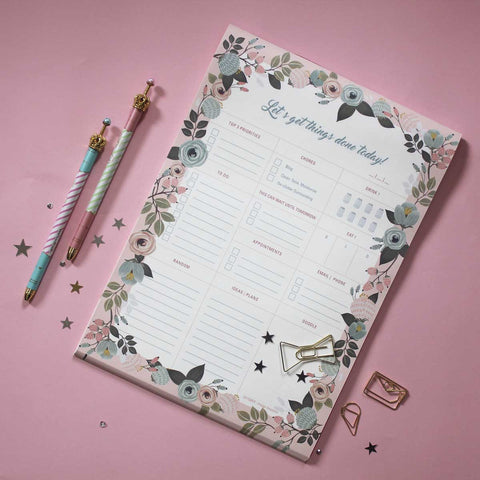 Planner - Floral Daily - propshop-24