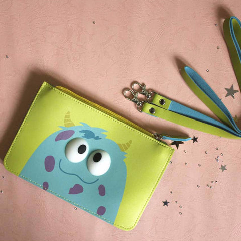 Cute Monster Pouch with sling - propshop-24
