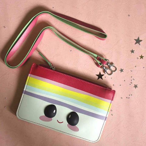 Cute Colourful Pouch with Sling - propshop-24