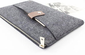 Laptop Sleeve - Loop It Felt - Light Grey-GADGETS-PropShop24.com