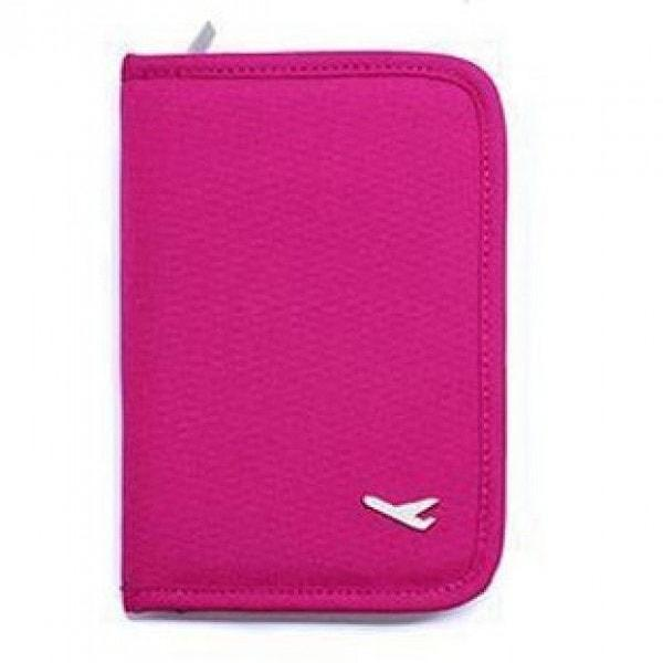 Passport Cover - Airplane - Pink-Fashion-PropShop24.com
