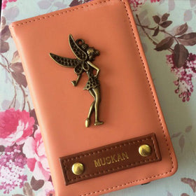 Personalized - Passport Cover - Peach - C.O.D NOT AVAILABLE-FASHION-PropShop24.com