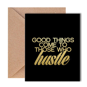 Greeting Card - Hustle-GREETING CARDS-PropShop24.com