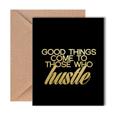 Greeting Card - Hustle - propshop-24