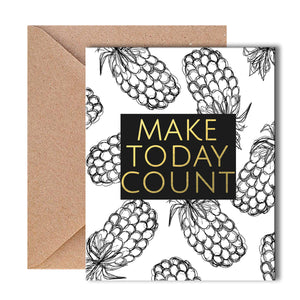 Greeting Card - Make Today Count-GREETING CARDS-PropShop24.com