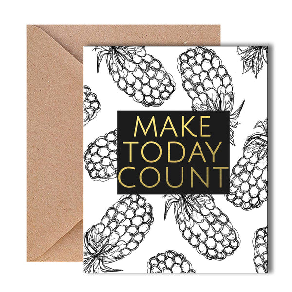 Greeting Card - Make Today Count - propshop-24