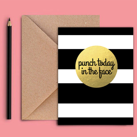 Greeting Card - Punch Today - propshop-24