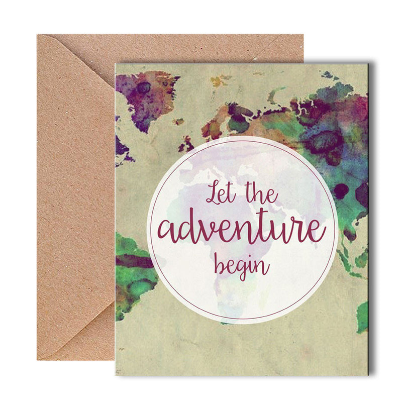 Greeting Card - Adventures-GREETING CARDS-PropShop24.com