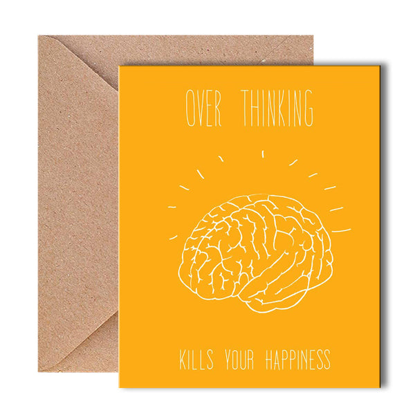 Greeting Card - Overthinking - propshop-24